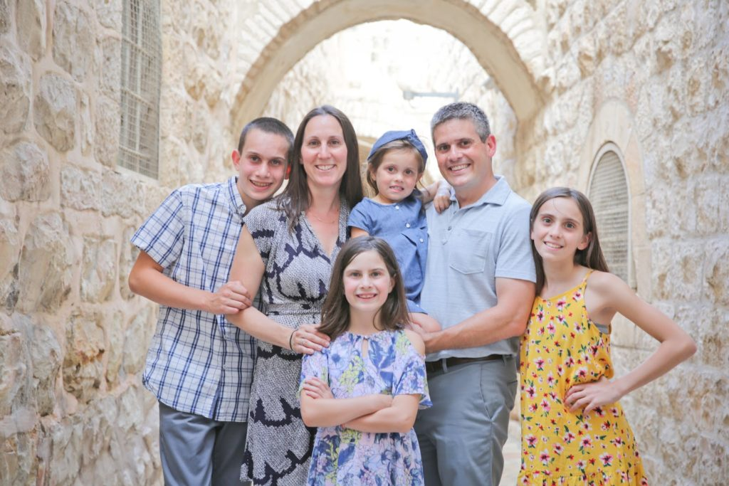 Image of Massachusetts Congress Candidate Ben Sigel and family